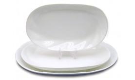 Блюдо 21,5х13,5 см  21-04-005 тм Helfer