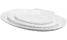 Блюдо Ракушка 21х16 см  21-04-061 тм Helfer